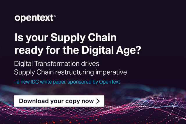 OpenText - Is Your Supply Chain ready for the Digital Age?